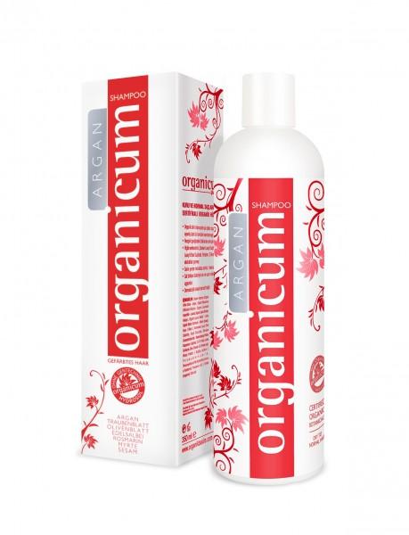 organicum Argan Shampoo für gefärbtes Haar, 350 ml
