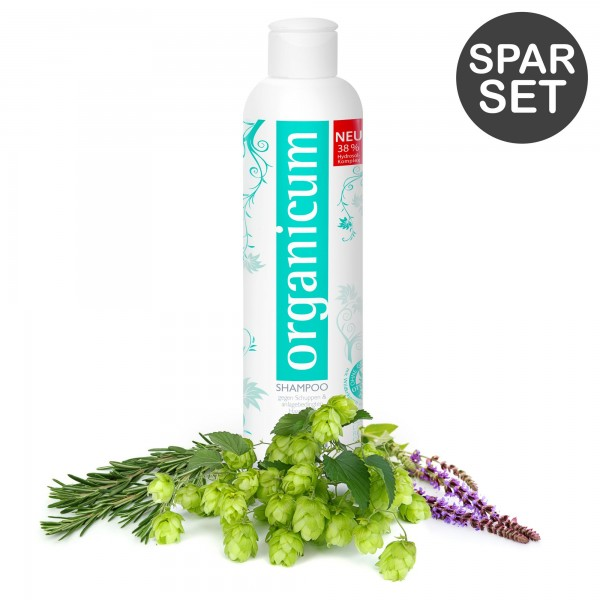 Spar-Set: 3x organicum Shampoo (je 350 ml)